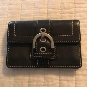 Authentic Coach Cardholder - Genuine Leather!
